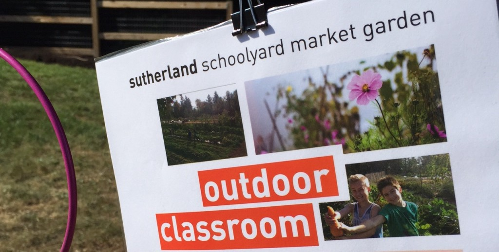 Sutherland Secondary School Outdoor Classroom