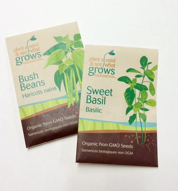 PAS Seed Packs Bush Beans & Basil