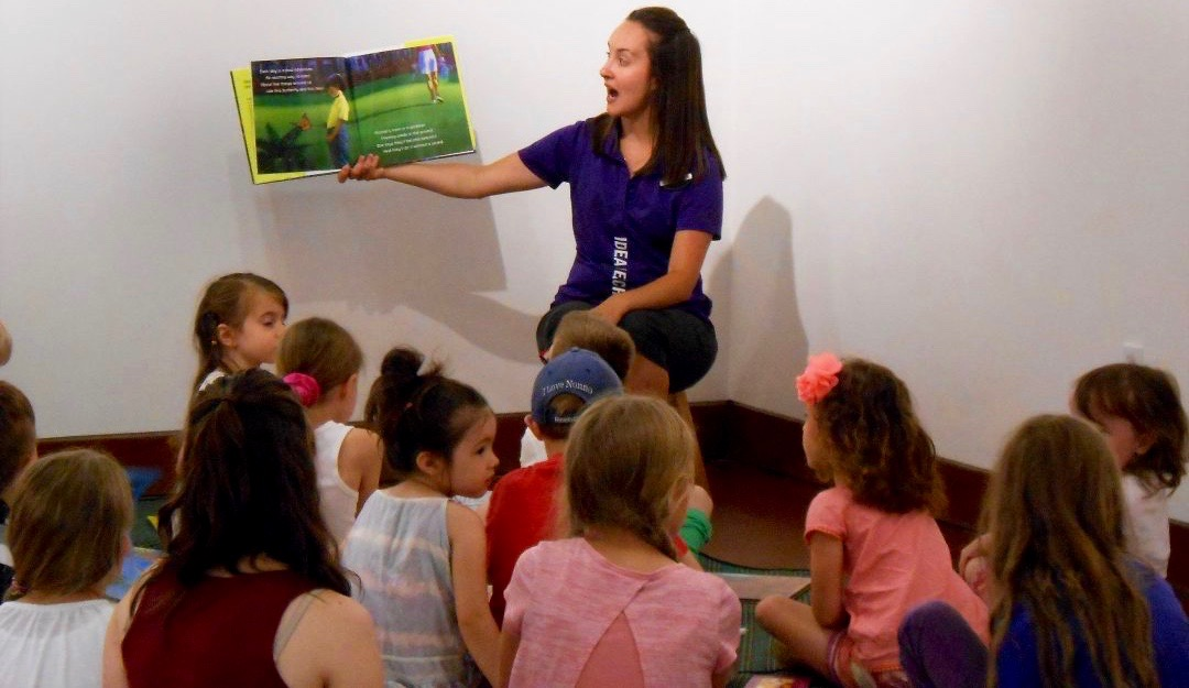 Outdoor Education Begins in Library
