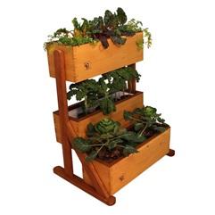 Self watering garden box