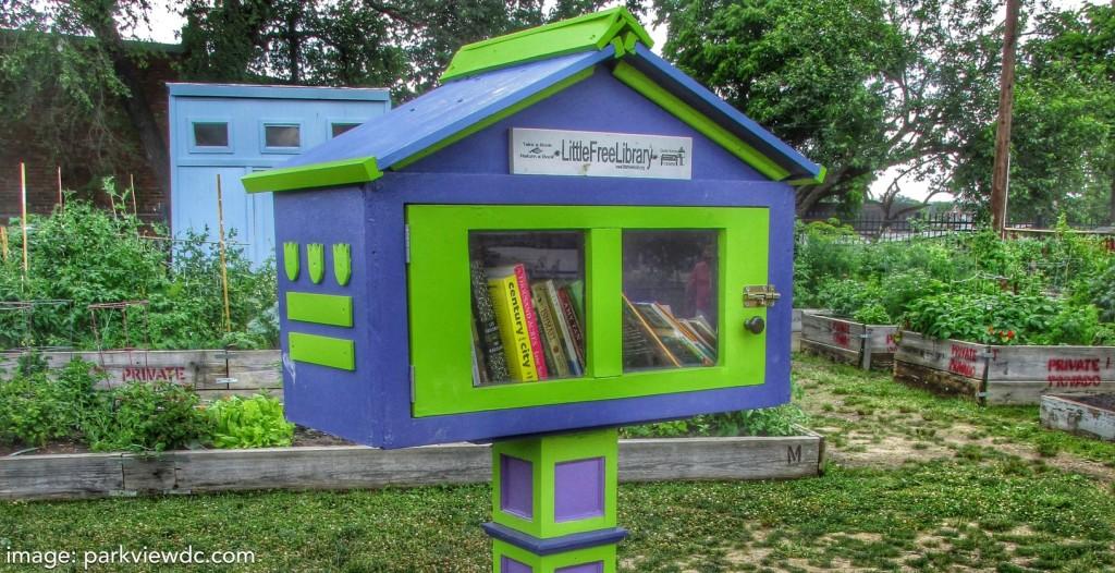 garden book exchange