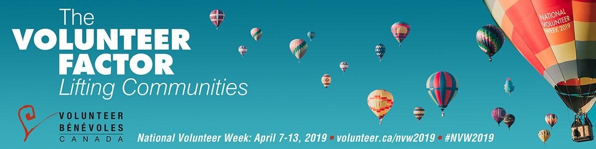 How to Celebrate National Volunteer Week in Canada 2019